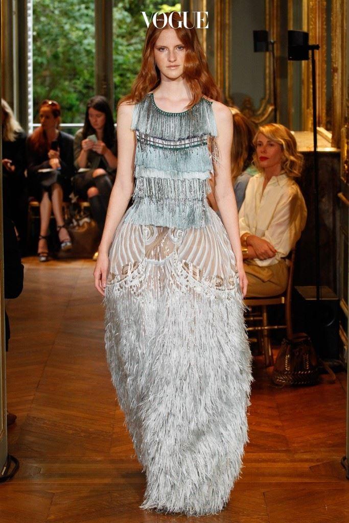 알베르타 페레티의 꾸뛰르 컬렉션은 단연 명작이었다. 레드카펫에서 빛을 발할 드레스들.