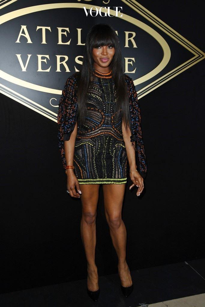 Atelier Versace  Naomi Campbell