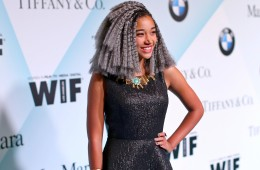 CENTURY CITY, CA - JUNE 16:  Actress Amandla Stenberg attends Women In Film 2015 Crystal + Lucy Awards Presented by Max Mara, BMW of North America, and Tiffany & Co. at the Hyatt Regency Century Plaza on June 16, 2015 in Century City, California.  (Photo by Mark Davis/Getty Images for Women in Film)