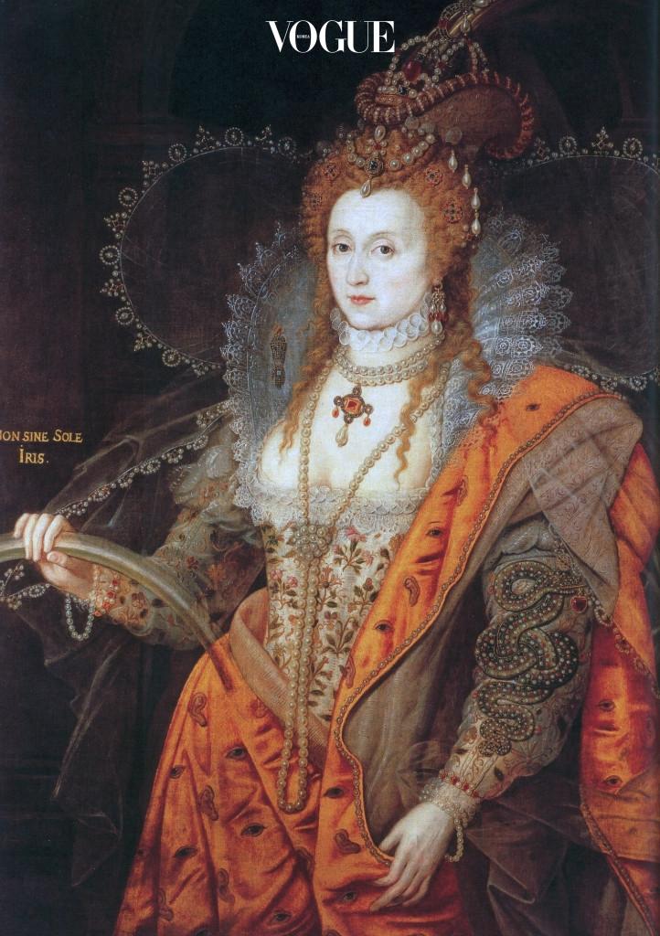 1.엘리자베스 여왕 'Rainbow' 초상화 I 영국 햇필드 하우스(Hatfield House)에 전시되어 있는 솔즈베리(Marquess of Salisbury) 후작 컬렉션, 1600-1602.