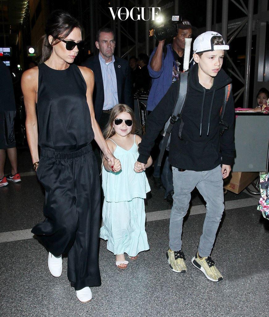 빅토리아 베컴과 딸 하퍼, 아들 로미오 (Victoria Beckham and kids)