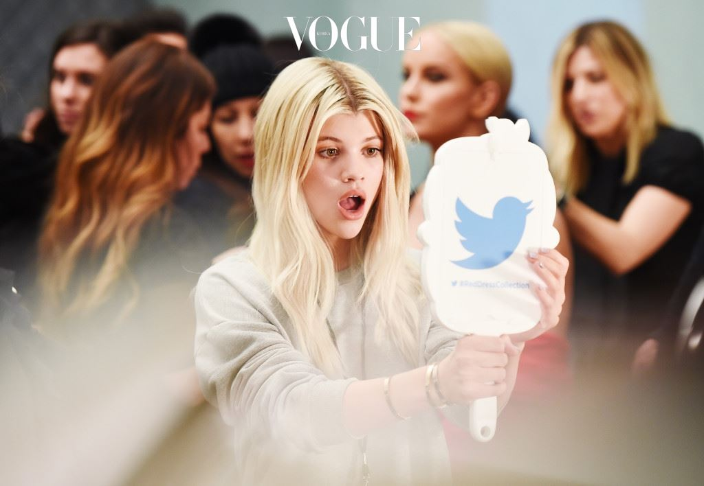 NEW YORK, NY - FEBRUARY 11:  (EDITORS NOTE: This image has been digitally altered)  An alternative view of Sofia Richie during New York Fashion Week Fall 2016 at Moynihan Station on February 11, 2016 in New York City.  (Photo by Nicholas Hunt/Getty Images)
