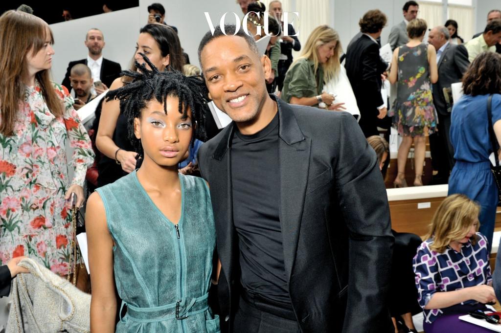 윌 스미스 (Will Smith)와 딸 윌로우 스미스 (Willow Smith)