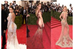 (왼쪽부터) 킴 카다시안 (Kim Kardashian), 제니퍼 로페즈 (Jennifer Lopez), 비욘세 (Beyonce)