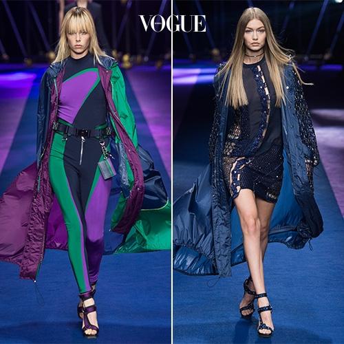 ▲ 사진을 클릭해 Versace 2017 S/S 컬렉션 룩을 모두 감상하세요.