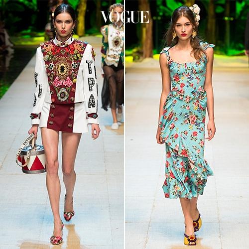 ▲ 사진을 클릭해 Dolce and Gabbana 2017 S/S 컬렉션 룩을 모두 감상하세요.