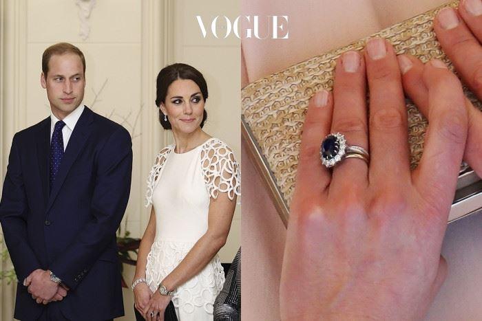 케이트 미들턴 윌리엄 원저 왕세손 $500,000 이 사파이어 보석 반지는 찰스 왕세자가 다이애나 비에게 주었던 반지로 유명하죠? 당시 $47,000 값어치였지만 시간이 흐른 지금, 약 5억 6천만 원을 호가합니다.