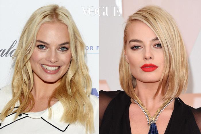 마고 로비(Margot Robbie) 단발로 변신한 후 역대급 미모를 자랑 중인 그녀.