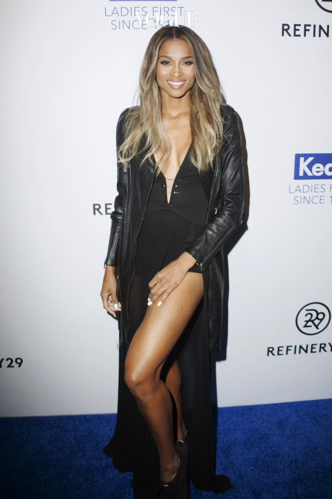 NEW YORK, NY - FEBRUARY 10:  Ciara attends the Keds Centennial Celebration at Center548 on February 10, 2016 in New York City.  (Photo by Santiago Felipe/Getty Images)