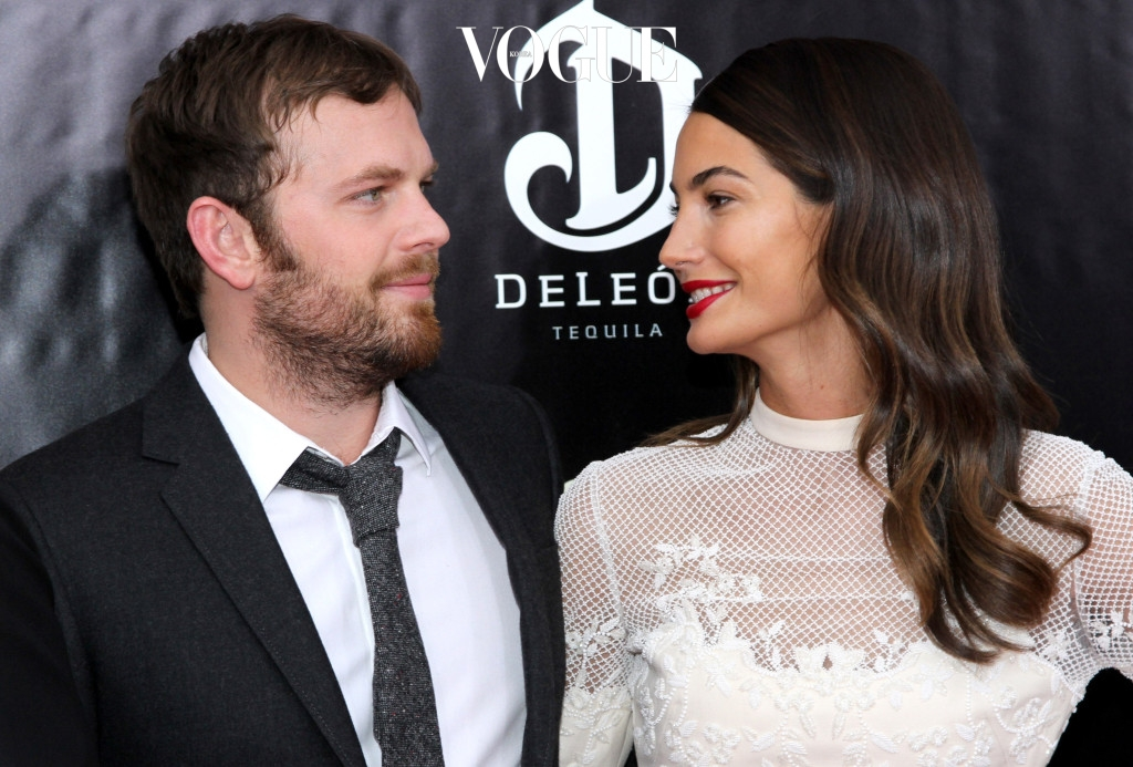 NEW YORK, NY - DECEMBER 12:  Caleb Followill and Lily Aldridge attend the premiere of AUGUST:OSAGE COUNTY presented by The Weinstein Company with DeLeon Tequila on December 12, 2013 in New York City.  (Photo by Rob Kim/Getty Images for DeLeon Tequila)