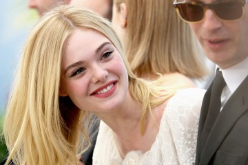 "CANNES, FRANCE - MAY 20:  Elle Fanning attends the ""The Neon Demon"" photocall during the 69th annual Cannes Film Festival at Palais des Festivals on May 20, 2016 in Cannes, France.  (Photo by Luca Teuchmann/Getty Images)"