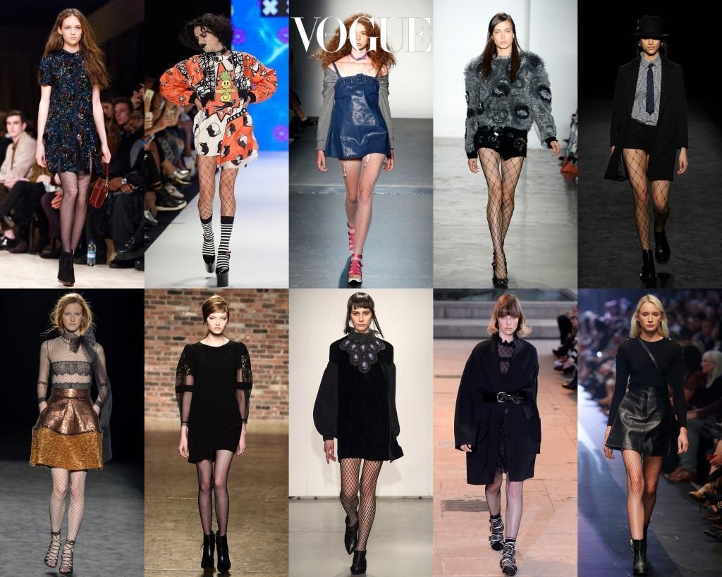 사실 망사 스타킹은 런웨이의 단골 소재이자 패션 피플들의 꾸준한 사랑을 받는 아이템이죠.