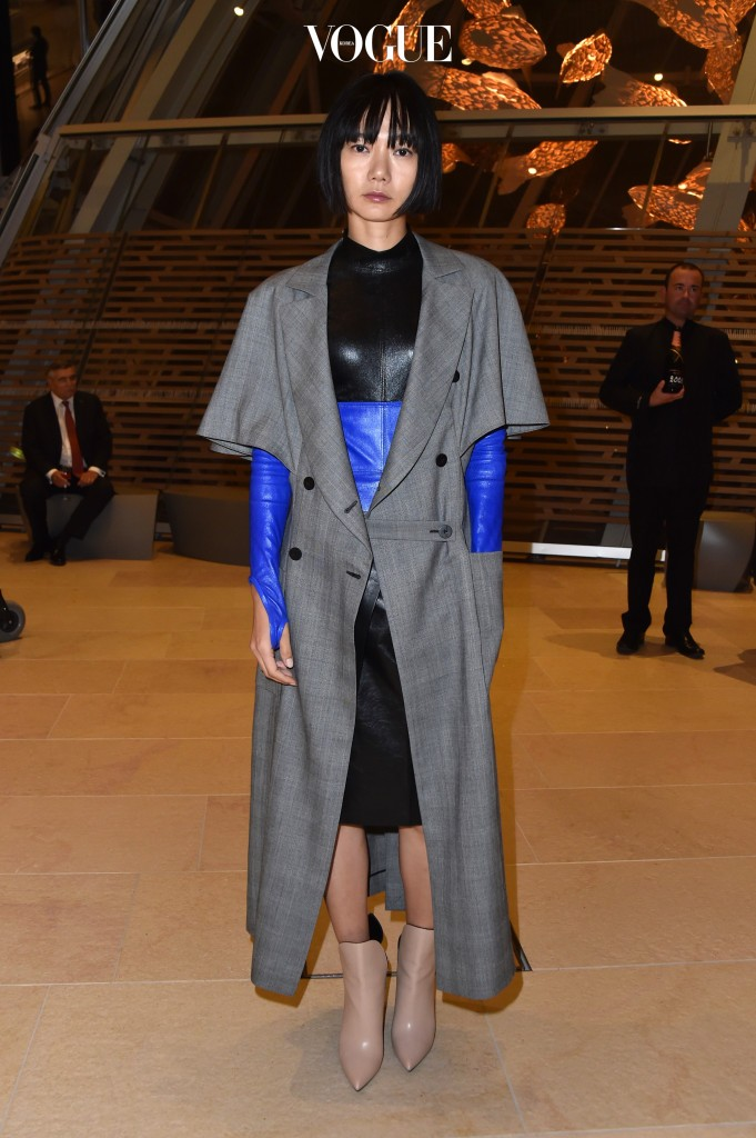 "PARIS, FRANCE - OCTOBER 20:  Doona Bae attends a Cocktail for the opening of ""Icones de l'Art Moderne, La Collection Chtchoukine""at Fondation Louis Vuitton on October 20, 2016 in Paris, France.  (Photo by Pascal Le Segretain/Getty Images)"