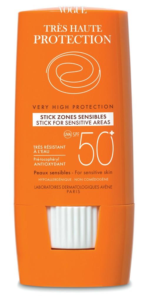 아벤느의 '선스틱 포 센시티브 에어리어 SPF50+ PA+++'. 가격 2만3천원.