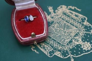1796년에 제작된 '너와 나' 반지.