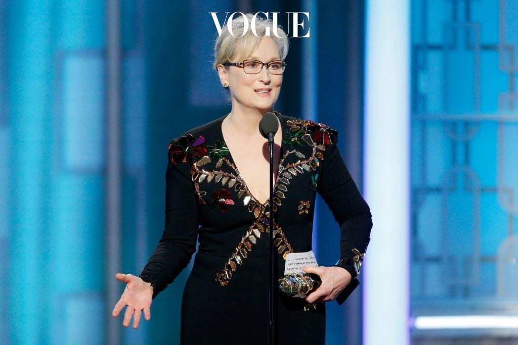 """2016년 제 74회 골든 글러브 공로상을 받으며 메릴 스트립(Meryl Streep)이 남긴 이야기가 그 모든 것을 대변해주고 있습니다. """"무례함은 무례함을 부릅니다. 폭력은 폭력을 야기하죠. 힘을 가진 사람이 다른 사람을 괴롭히는 데에 그 힘을 사용하면 우리는 모두 패배하는 것입니다 (중략) 지금은 세상을 떠난 사랑하는 내 친구 레아공주가 했던 말이 있습니다. '상처받은 마음을 추슬러 예술로 승화해라!'"""""""