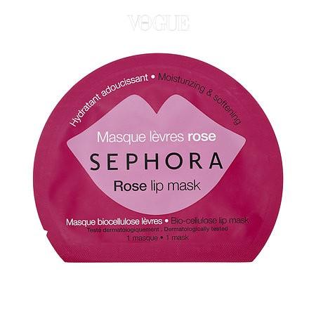 시트 타입으로 쉽고 간편하게 극강의 보습 효과를 선사하는 세포라 컬렉션(SEPHORA COLLECTION)의 '립 마스크'