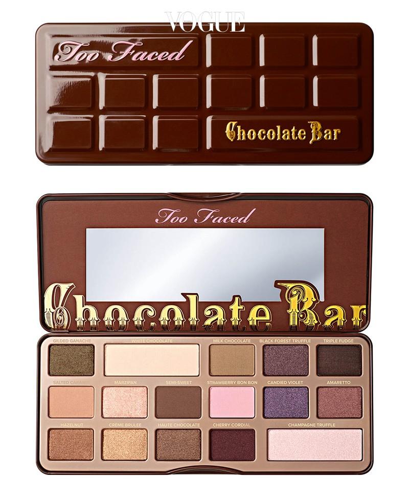 투페이스드 '초콜릿 바 아이섀도 컬렉션', 49달러 아이섀도 속에 코코아 가루가 들어갔다면 믿어지세요?