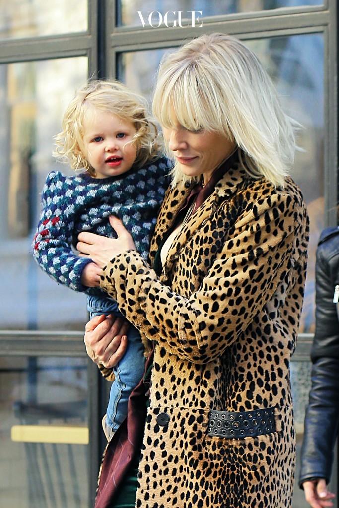 케이트 블란쳇의 딸 에디스 Cate Blanchett and Edith Upton
