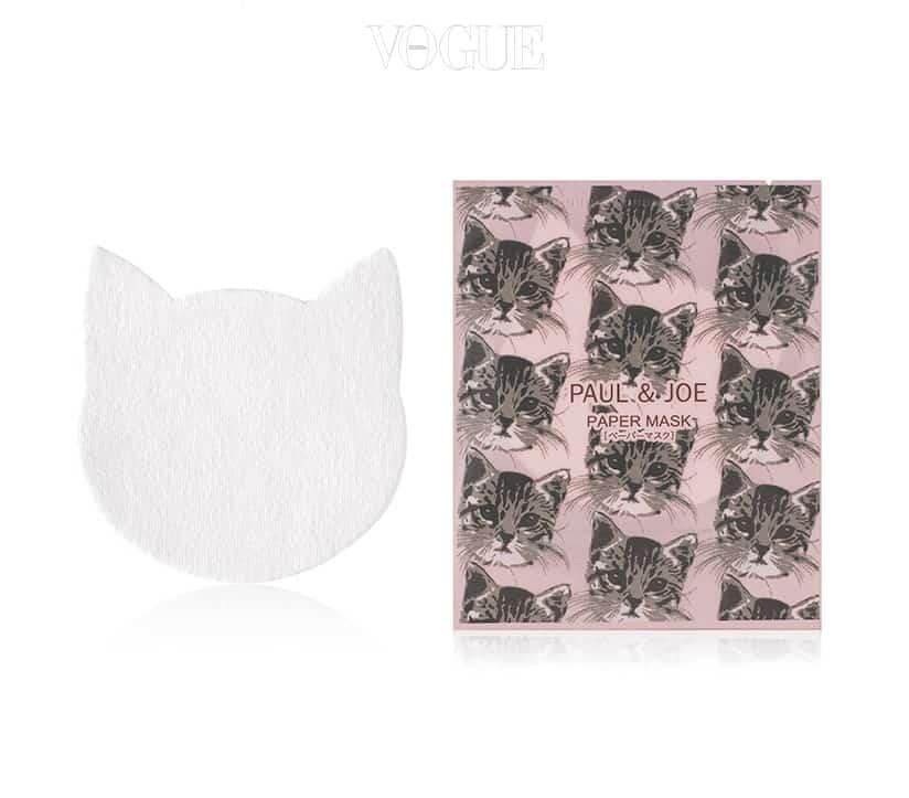 '폴앤조보떼'의 고양이 모양의 마스크 패치!  디 오일(The Oil)을 적셔서 사용하는 마스크 시트로, 에센스를 팩으로 사용할 때 이용하면 좋은 제품이랍니다.
