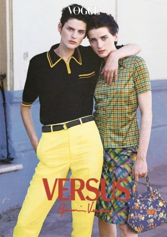 Stella Tennant for Versus Versace in 1996