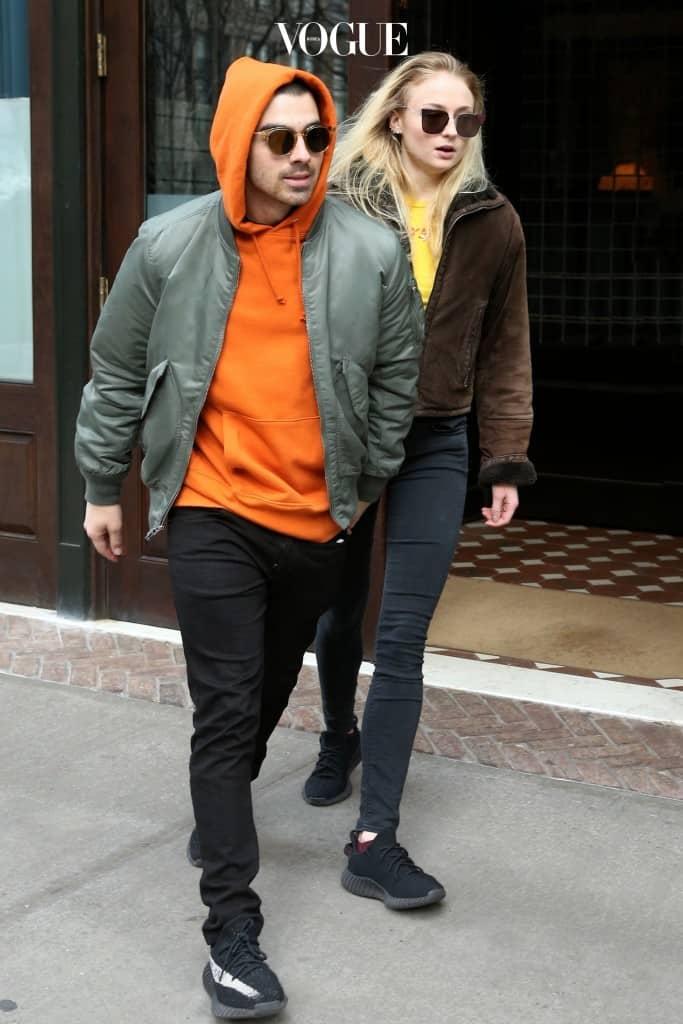 조 조나스와 소피 터너 Joe Jonas and Sophie Turner