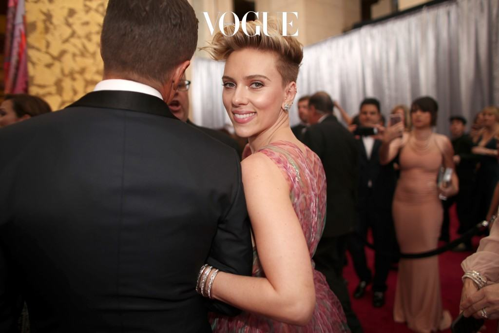 HOLLYWOOD, CA - FEBRUARY 26:  Actor Scarlett Johansson attends the 89th Annual Academy Awards at Hollywood & Highland Center on February 26, 2017 in Hollywood, California.  (Photo by Christopher Polk/Getty Images)