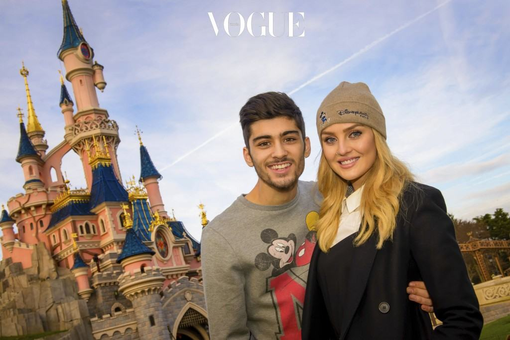 21st birthday of Zayn Malik (One Direction) with Perrie Edwards in Disneyland Paris on January 9, 2014. Pictured: Zayn Malik and Perrie Edwards Ref: SPL678813  090114   Picture by: Allpix / Splash News Splash News and Pictures Los Angeles:310-821-2666 New York: 212-619-2666 London:870-934-2666 photodesk@splashnews.com