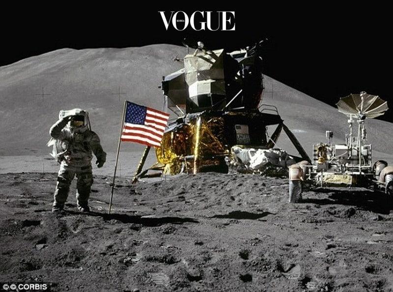 아폴로 11호의 달 착륙 모습(1969)