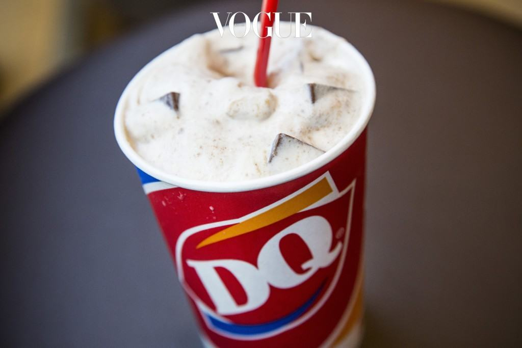 NEW YORK, NY - MAY 29:  A S'mores flavored blizzard is seen at a Dairy Queen, the first to open in Manhattan, on May 29, 2014 in New York City.  There are more than 6,300 Dairy Queens in the U.S.  (Photo by Andrew Burton/Getty Images)