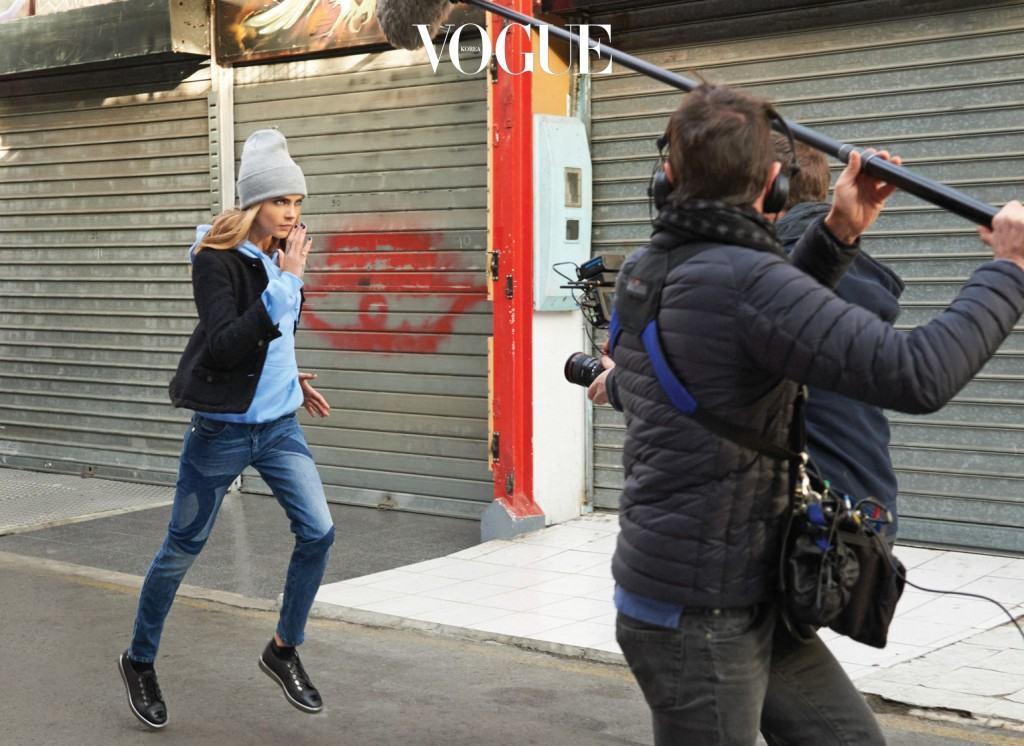CHANEL's GABRIELLE ad campaign - Ad film making of - Cara Delevingne 3