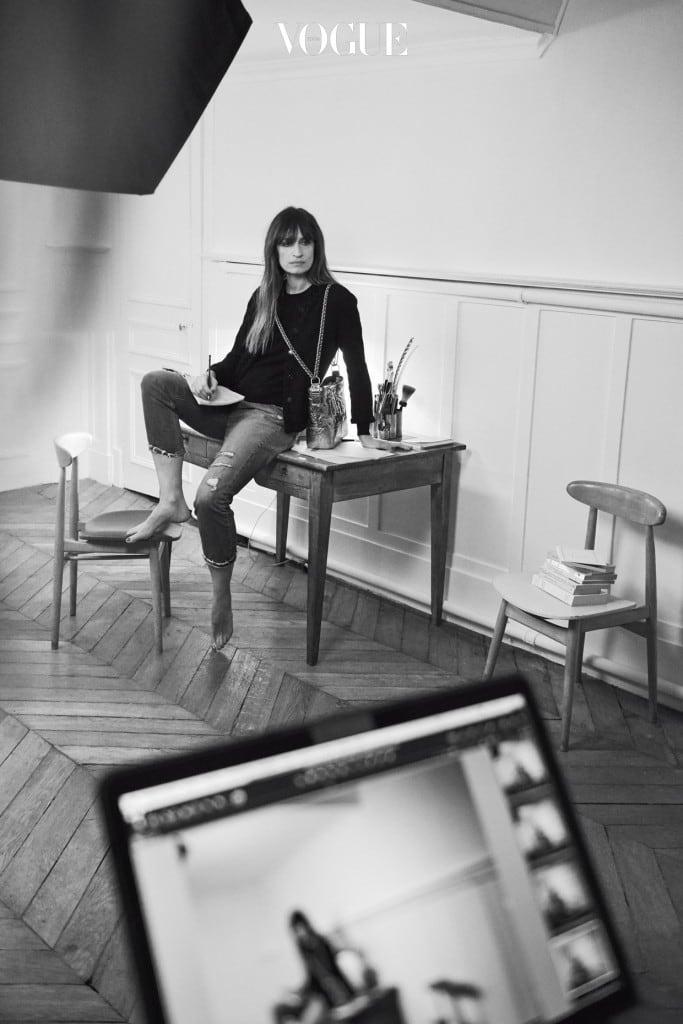 CHANEL's GABRIELLE ad campaign - Ad campaign making of - Caroline de Maigret 3