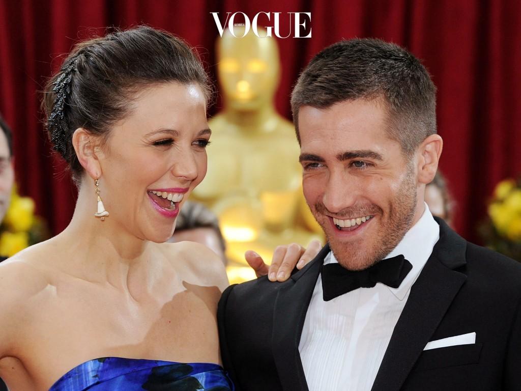 사이 좋은 남매의 정석인 제이크 질렌할과 매기 Maggie and Jake Gyllenhaal