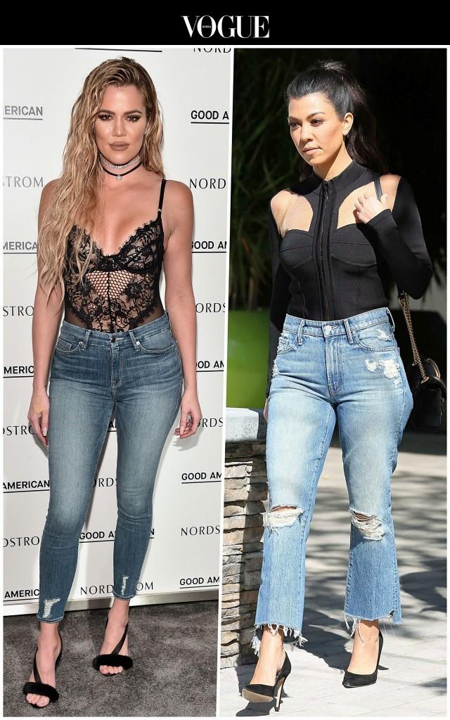 그건 자매인 카다시안 시스터즈와  Khloe Kardashian/ Kourtney Kardashian