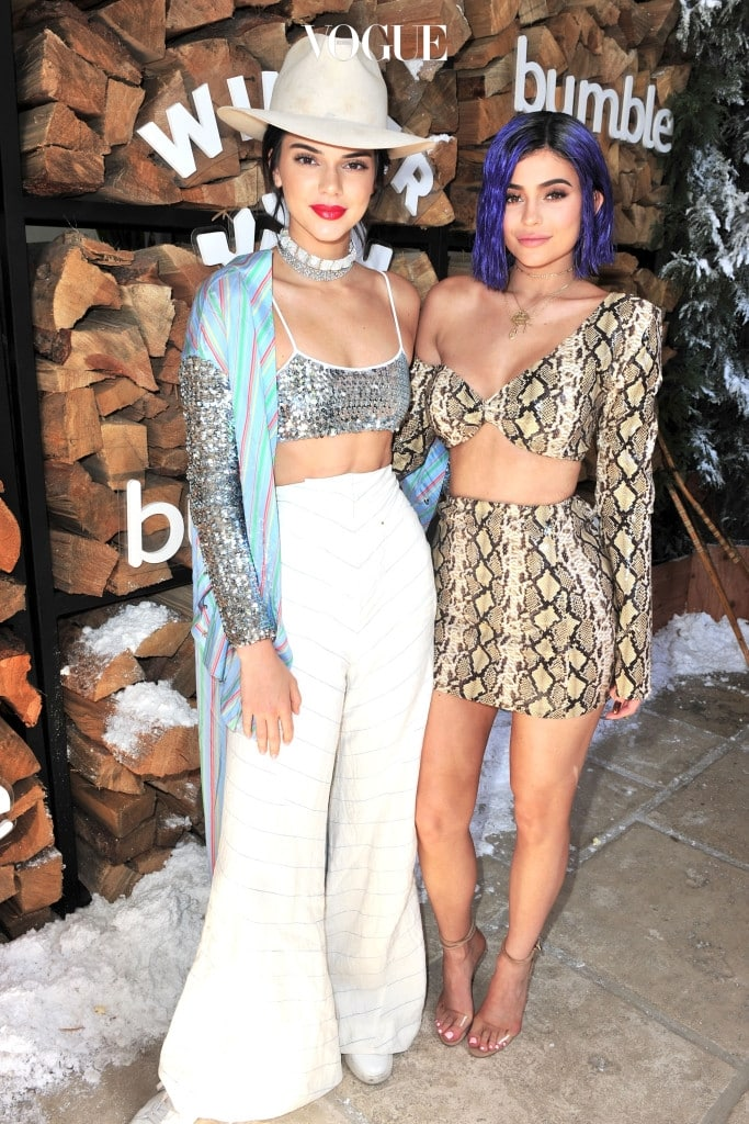 RANCHO MIRAGE, CA - APRIL 15: Kendall Jenner and Kylie Jenner attend Winter Bumbleland - Day 1 on April 15, 2017 in Rancho Mirage, California.  (Photo by Jerod Harris/Getty Images for FVA Productions)