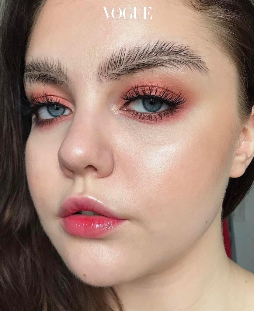 #나뭇잎 눈썹 @stella.s.makeup