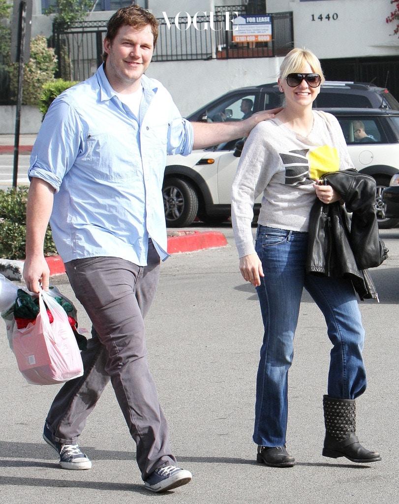 """안나 패리스는 """"귀여운 뚱뚱보 크리스가 그리워요,"""" 라고 말하기도 했지만, 크리스는 다시 뚱뚱했던 시절로 돌아가고 싶지 않은가보군요."""