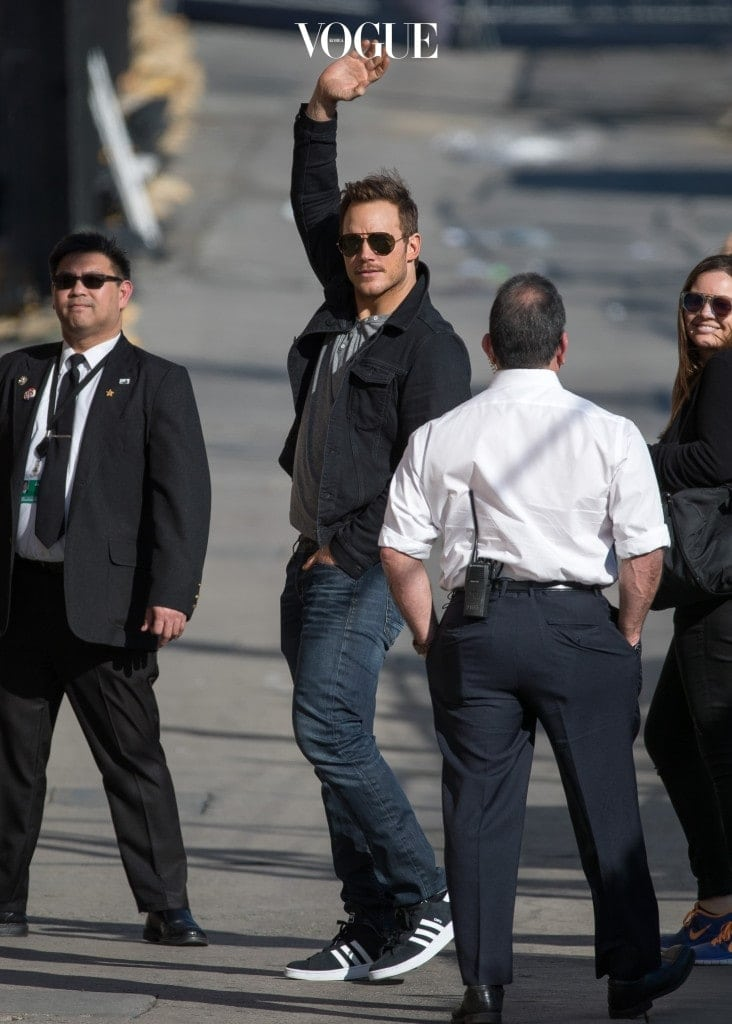 Chris Pratt at 'Kimmel'
