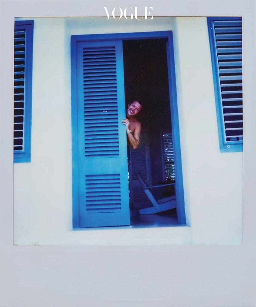 Eric on Holiday in Jamaica. 기억 속 가장 행복한 시절로 남은 자메이카 여행 중.