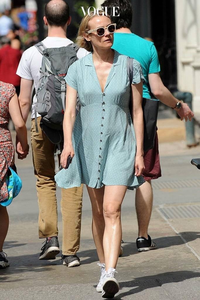 다이앤 크루거 Diane Kruger 컨버스(Converse) 스니커즈