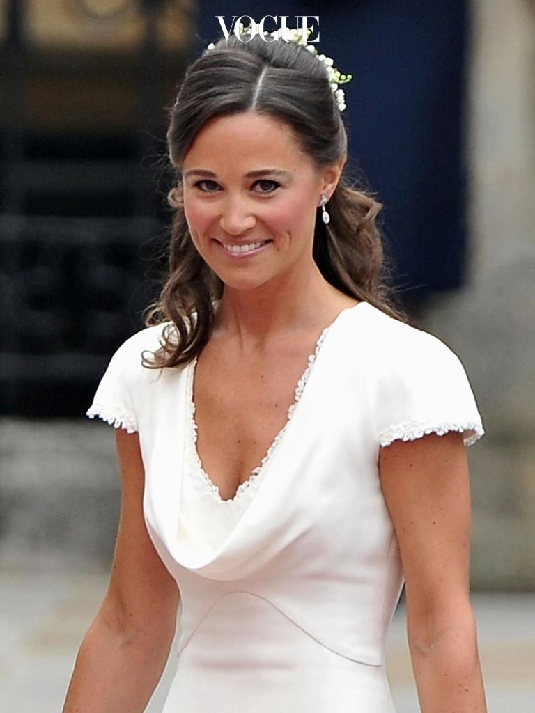 케이트 미들턴의 들러리를 맡으며 전세계 매체에 이름을 아로 새긴 여인, 피파 미들턴(Pippa Middleton).