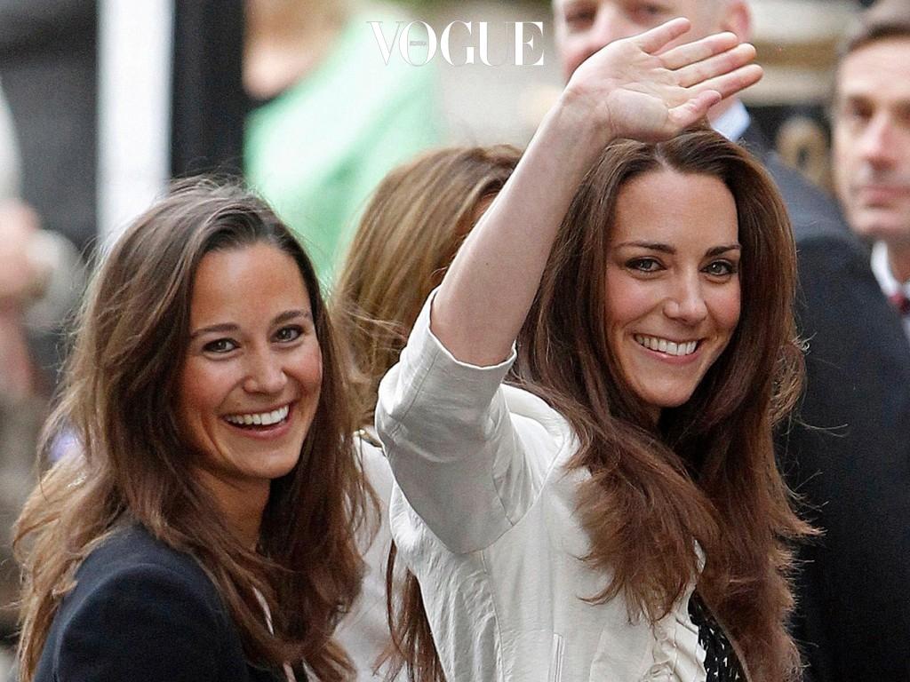 눈치 채셨나요? 케이트와 피파는 웃는 모습도 똑 닮은 자매 사이라는 걸!