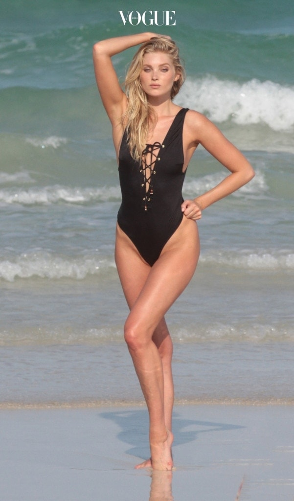 Victoria's Secret Angel Elsa Hosk Photoshoot 2 in Miami Beach, FL. Pictured: Elsa Hosk Ref: SPL1280273  110516   Picture by: MCCFL / Splash News Splash News and Pictures Los Angeles:310-821-2666 New York: 212-619-2666 London:870-934-2666 photodesk@splashnews.com