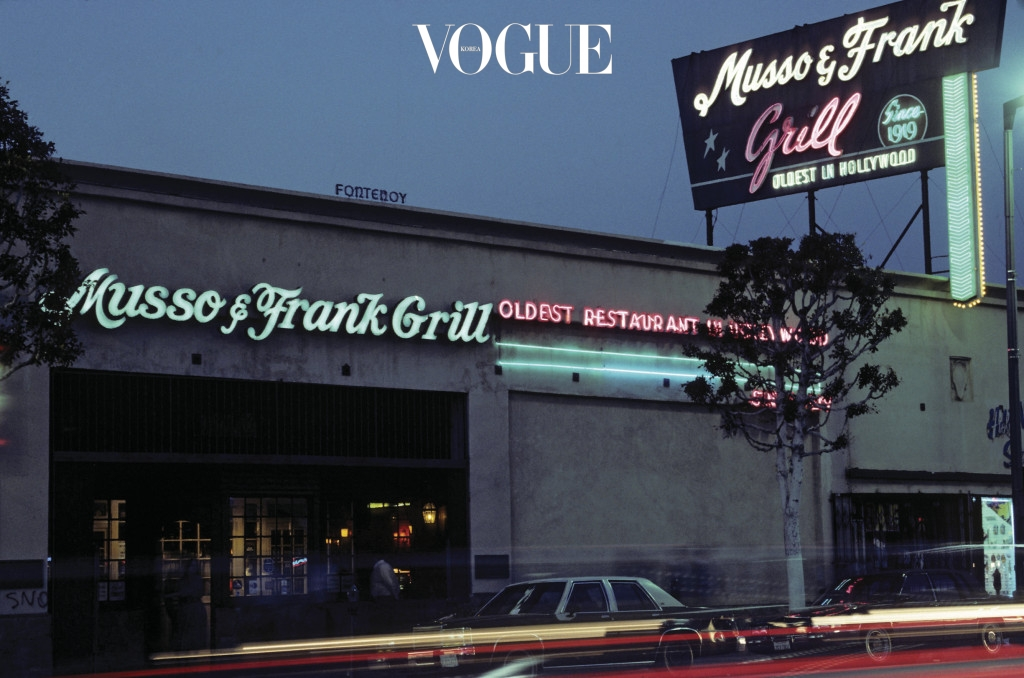 Musso And Frank Grill Exterior