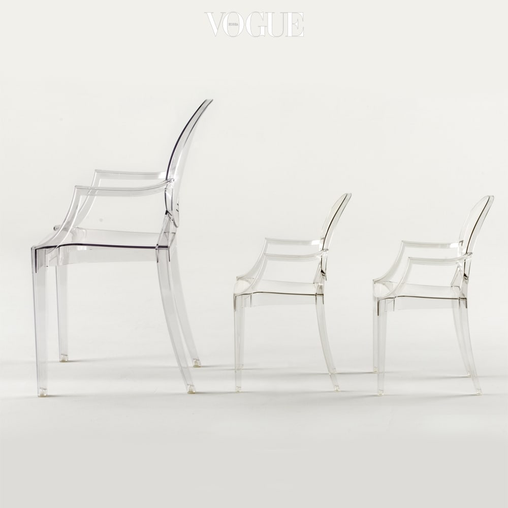 필립스탁이 디자인한 로우로우 고스트 키즈 의자는 카르텔(Kartell).