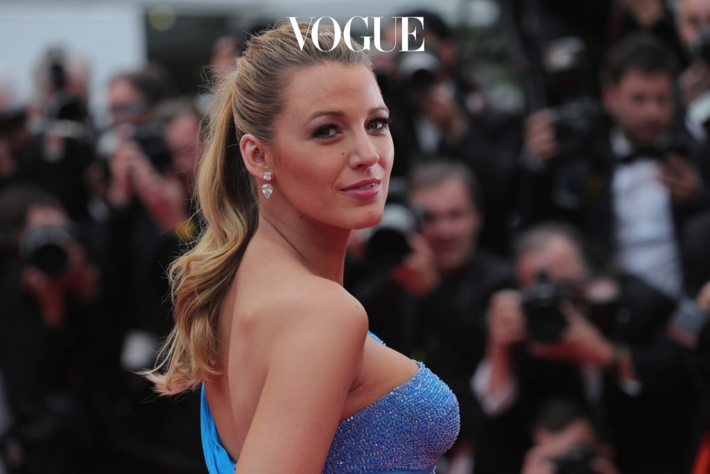 CANNES, FRANCE - MAY 14:   Blake Lively attends 'The BFG (Le Bon Gros Geant - Le BGG)' premiere during the 69th annual Cannes Film Festival at the Palais des Festivals on May 14, 2016 in Cannes, France.  (Photo by Neilson Barnard/Getty Images)