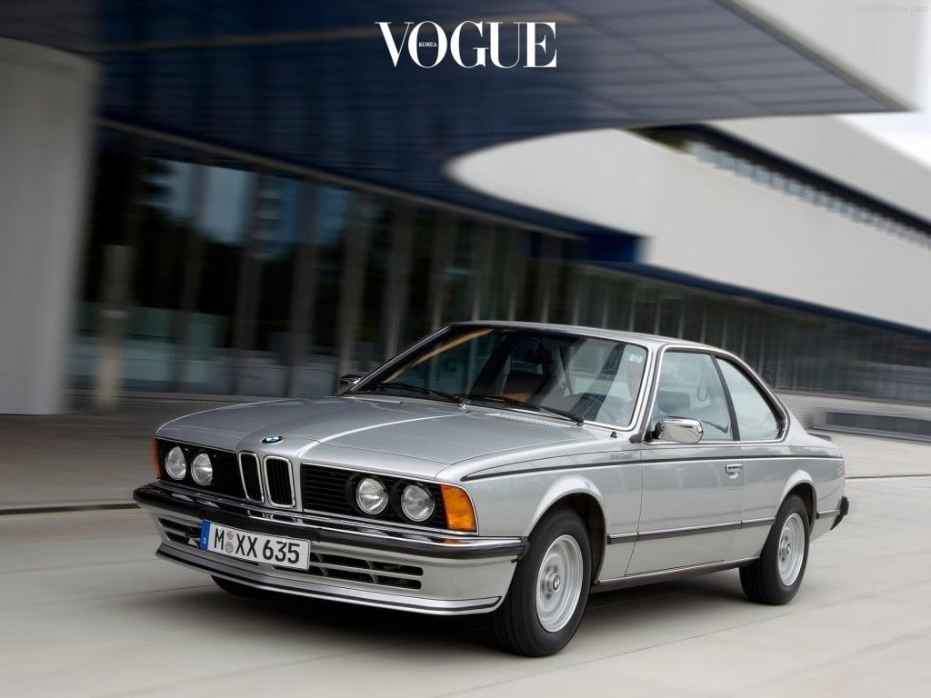 1976년 첫 번째 등장한 '짝수' 모델, 6시리즈(E24).