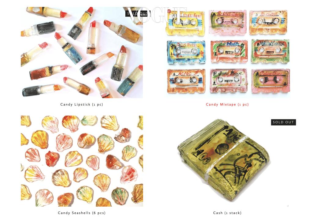 스위트 사바의 사탕은 현재 온라인 숍에서 구입할 수 있으며, $25부터 $75까지 가격대가 다양하답니다.