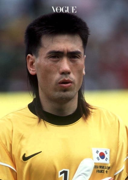 FRANCE - JUNE 13:  FUSSBALL: WM FRANCE 98, NATIONALMANNSCHAFT 1998 SUEDKOREA/KOR am 13.06.98, Torwart Byung Ji KIM  (Photo by Marcus Brandt/Bongarts/Getty Images)