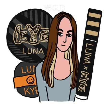 LUNA × KYE  '런웨이 뷰티'를 지향하는 색조 전문 브랜드 루나가 개성파 디자이너 계한희에게 러브 콜을 보냈다. 9월 1일 출시하는 'Luna × Kye'는 캣워크에 오른 모델들의 완벽한 얼굴을 재현해줄 재기 발랄한 화장품으로 구성한다. 눈여겨볼 제품은 키치한 디자인으로 부활한 '루나 에센스 수분광 팩트 AD'와 매혹적인 입술을 위한 블랙 톱코트 '루나 런웨이 립 체인저'.